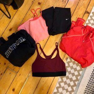 Bundle of women's activewear